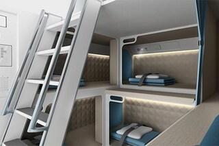 Le nuove cabine comode e sicure per i voli a lungo raggio