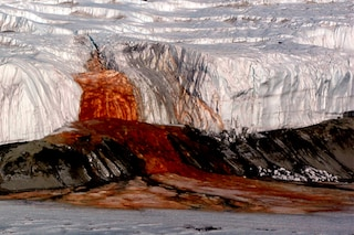 Il mistero delle cascate di sangue in Antartide