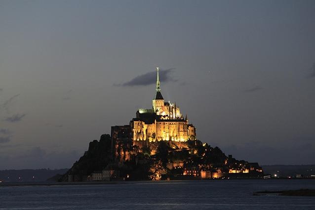 Mont Saint–Michel, Francia.