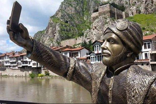 Statua del Slefie.