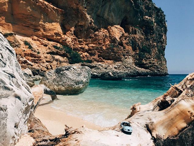 Cala Biriola, sempre sulla Costa di Baunei (@Fanpage.it/Alessandra Polo).