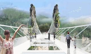 In Cina apre il ponte che c'è, ma non si vede