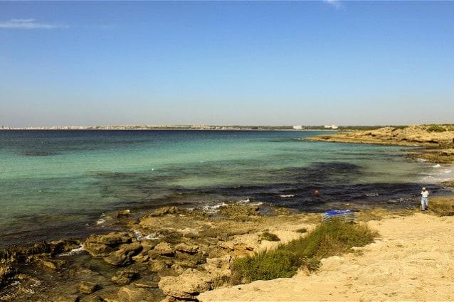 Punta della Suina, Gallipoli, Lecce.