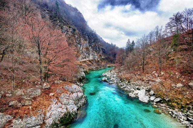 Il fiume più bello del mondo si trova in Slovenia