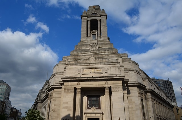 Freemason's Hall, la loggia massonica a Londra (Foto @Fanpage.it/Giuseppe A. D'Angelo)