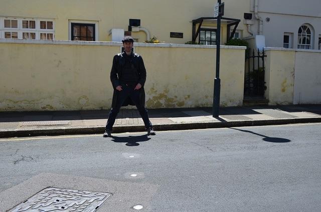 Il meridiano di Greenwich, dove non si paga (Foto @Fanpage.it/Giuseppe A. D'Angelo)