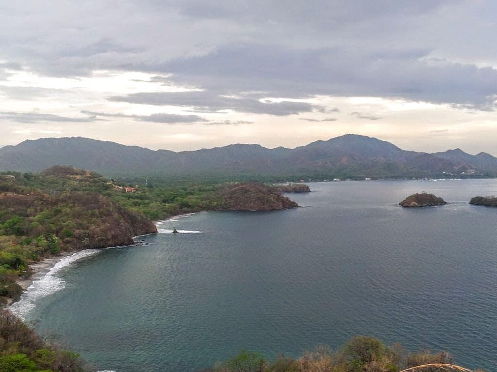 Diversespiagge della Costa Rica nella baia di Potrero (Foto Fanpage.it/Raffaele Basile).