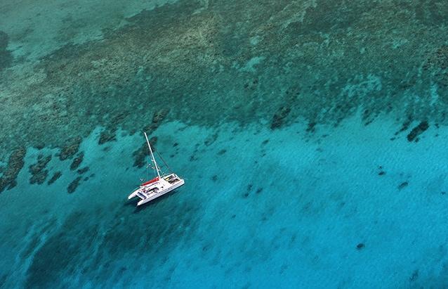 Nel mare delle Cayman, a sud di Cuba.