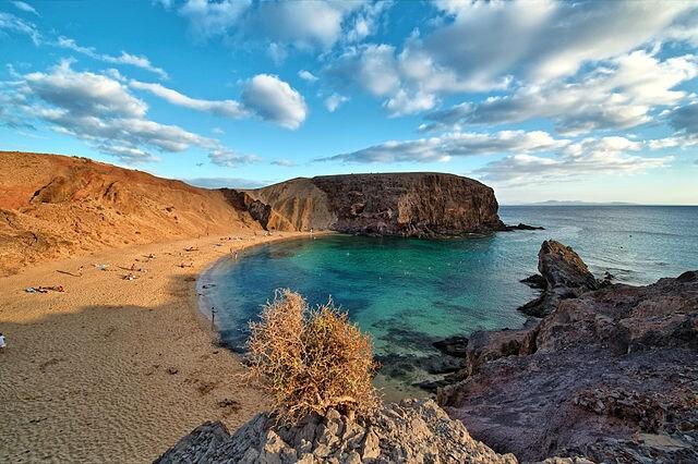 Lanzarote, Canarie (da Wikipedia).