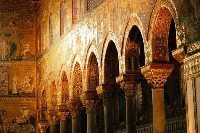 Particolare del Duomo di Monreale (Foto di Bernhard J. Scheuvens).