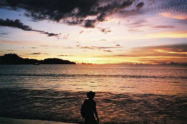 Tramonto in Costa Rica (Foto di Chris Martin).