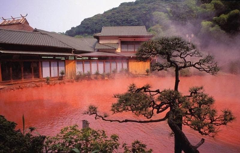 Terme di Beppu, Giappone