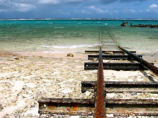 Treno per l'Atlantico nella Provincia di Camagüey (Foto daFlickr).