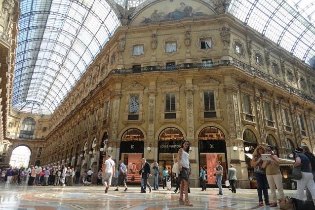 Galleria Vittorio Emanuele, Milano – Foto Wikimedia Commons