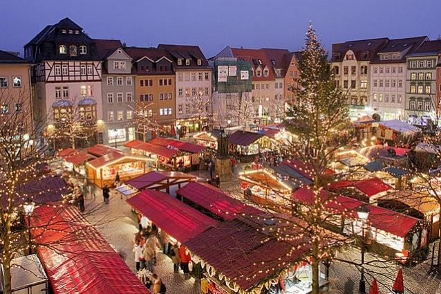 Mercatino di Natale a Jena, Germania – Foto Wikipedia