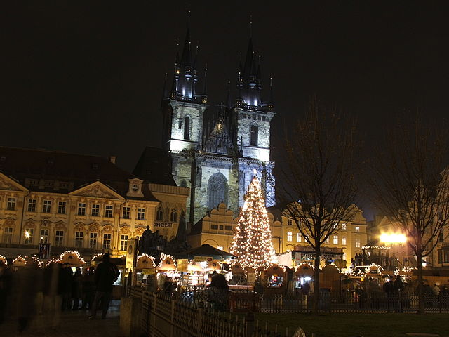 Praga a Natale – Foto Wikimedia Commons