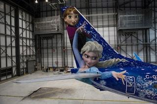 Il mondo di Frozen spicca il volo