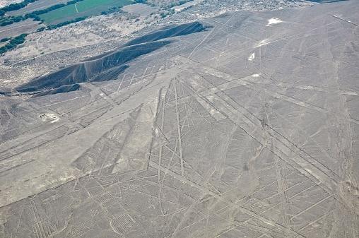 Le linee di Nazca viste dall'aereo