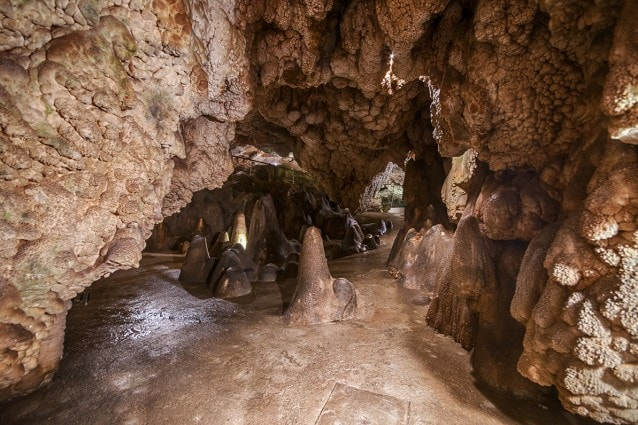 Sala Ingresso Grotta Giusti Pistoia