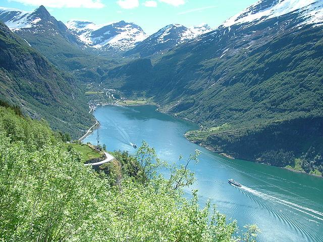 Geirangerfjord – Foto Wikipedia