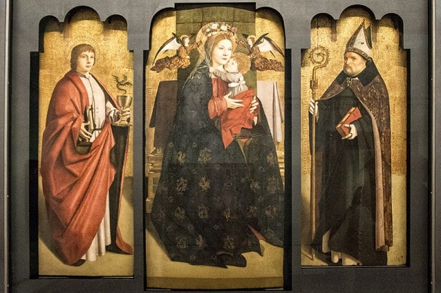 Trittico di Antonello da Messina