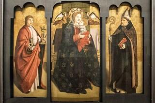 Il Trittico di Antonello da Messina si ricompone agli Uffizi di Firenze