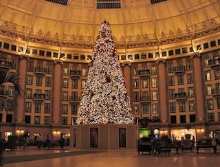5 hotel dove gli alberi di Natale sono opere d'arte