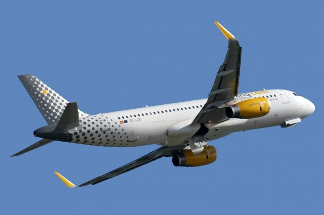 Airbus A320–232 Vueling (foto Wikimedia Commons)