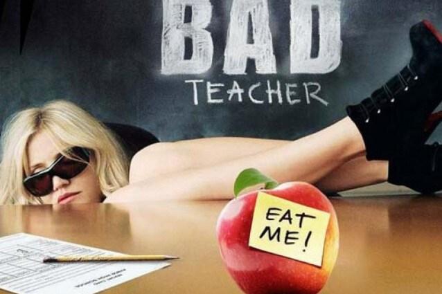 "Locandina del film ""Bad Teacher"" con Cameron Diaz"