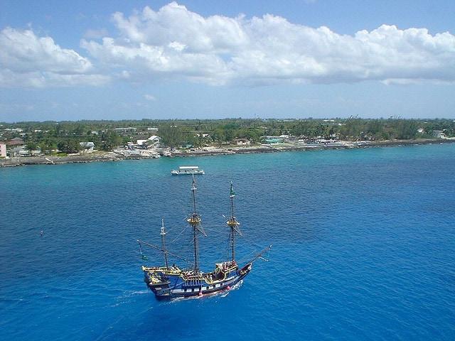 Veduta delle isole Cayman – Foto di Lyn Gateley