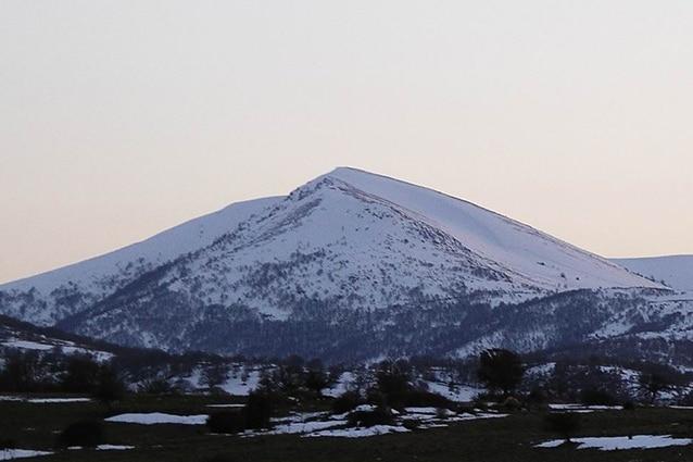 Monte Spada da Fonni (foto di Max Oppo).