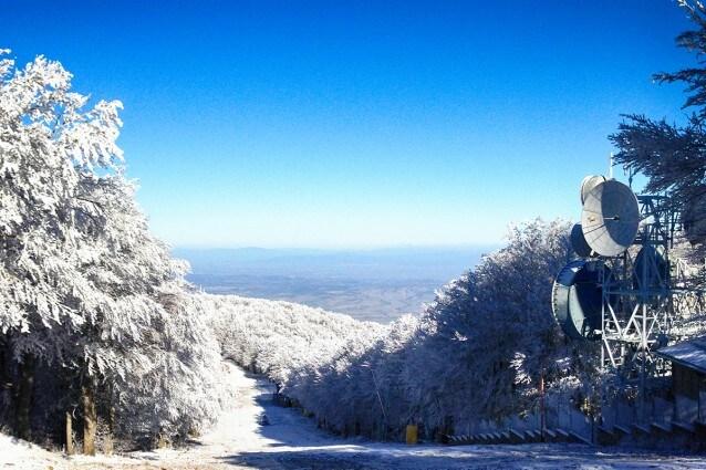 Pista da sci sul Monte Amiata (CC BY 4.0 @fanpage.it/Ilaria Vangi).