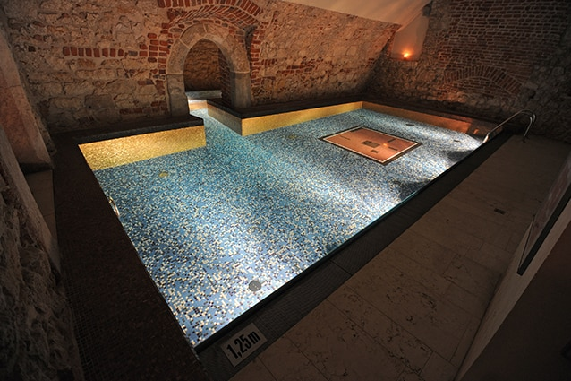 Terme a Cracovia: la spa dell'Hotel Stary (Foto di Michael Regan/Getty Images).