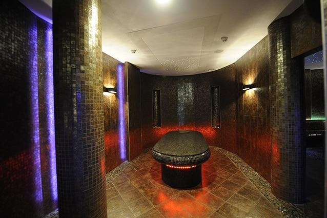 Terme nei pressi di Danzica: la sauna del Mistral Sport Hotel a 50 km da Gdansk (Foto di J. Skarzynski/AFP/Getty Images)