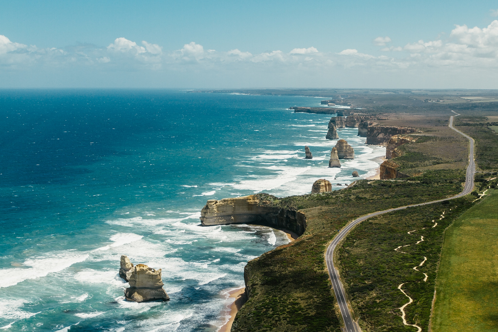 Twelve Apostles, Great Ocean Road, VIC, Mandatory credit: Tourism Australia / Time Out Australia, Photographer: Roberto Seba.