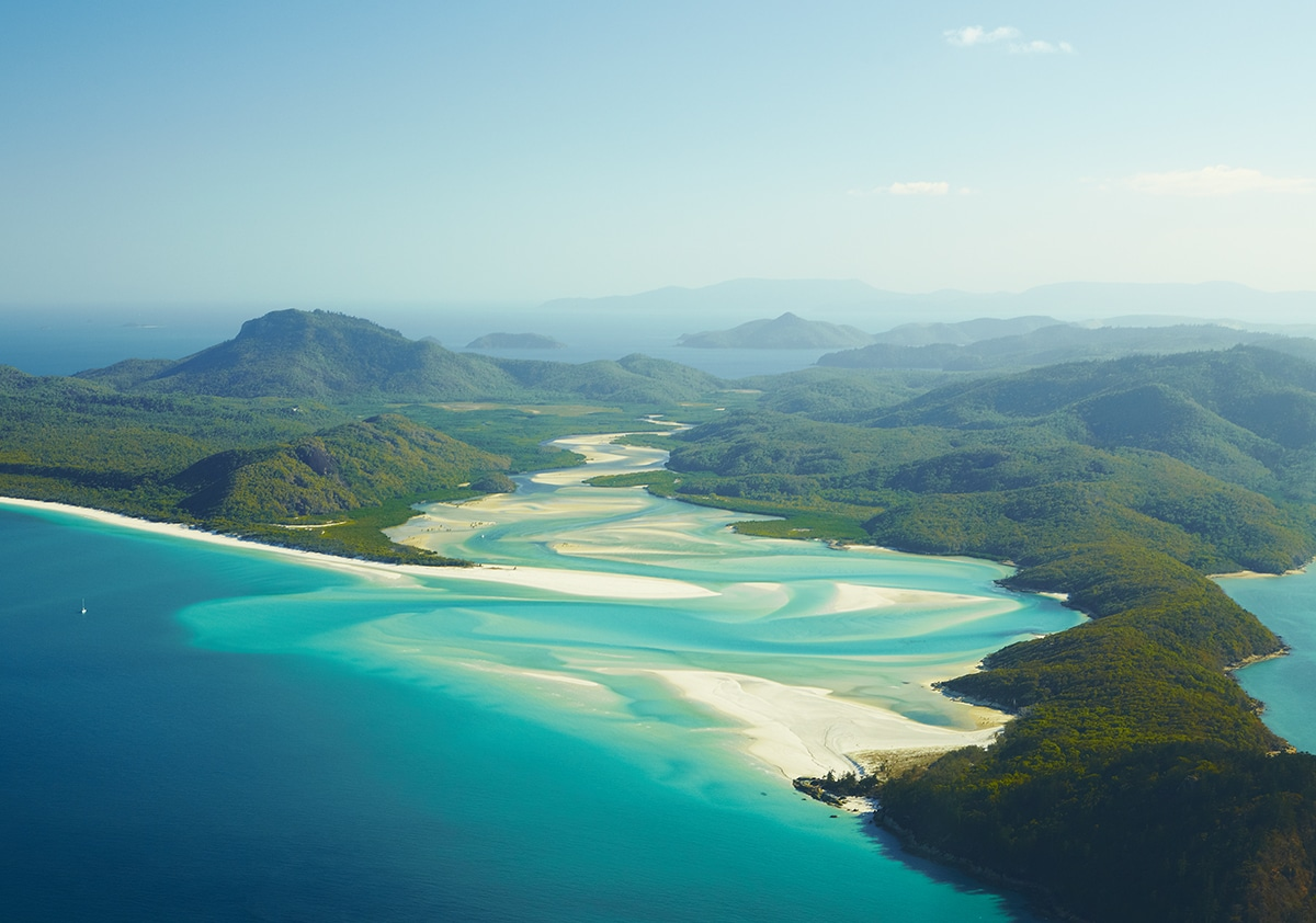 Whitehaven Beach, Whitsundays Islands, QLD, Mandatory credit: Tourism Australia, Photographer: Maxime Coquard