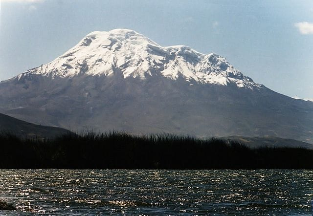 Chimborazo, Ecuador – Foto Wikimedia Commons
