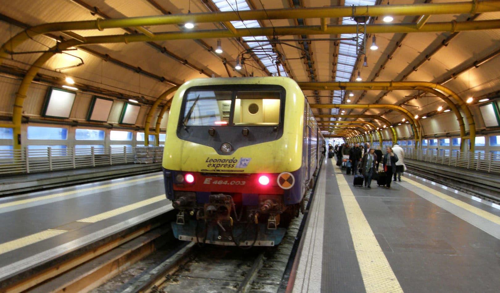 Treno Leonardo Express a Fiumicino – Foto Wikipedia