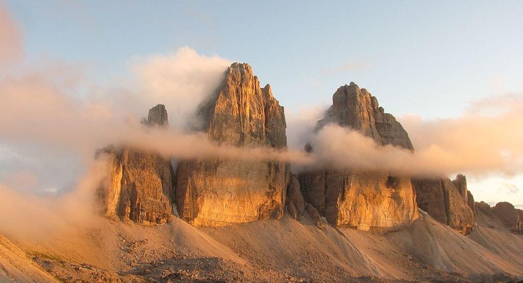 Tre Cime di Lavaredo – Foto Wikimedia Commons