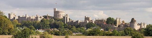 Windsor dal Tamigi