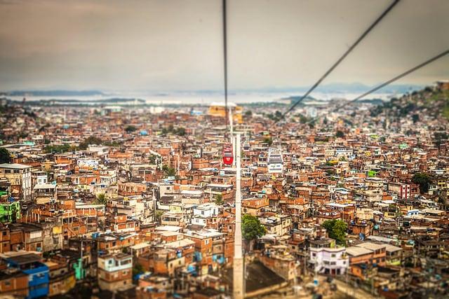 Favela di Morro do Alemão. Foto di annaspies