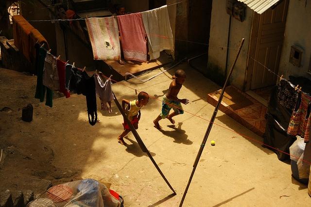 Favela di Rocinha. Foto di Alex