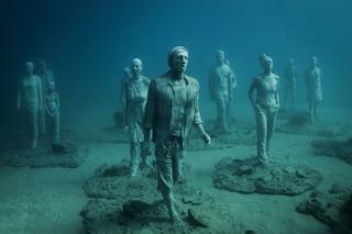 """Lanzarote, """"apre"""" il primo museo sottomarino al mondo"""