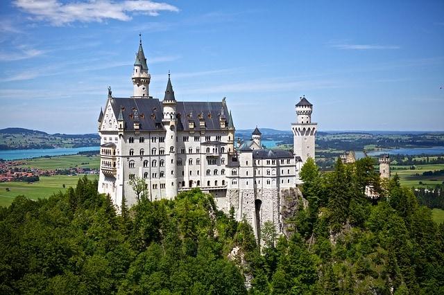 Neuschwanstein – Foto di Pixabay
