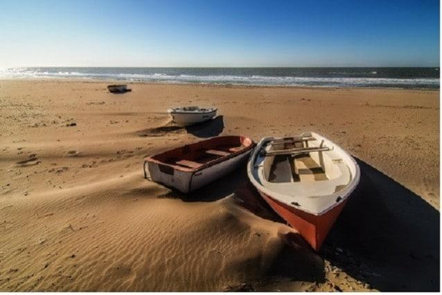 Spiaggia di Ostia.