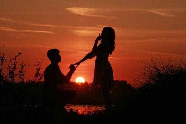 Proposta di matrimonio – Foto Pixabay