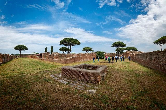 Ostia possiede uno dei siti archeologici più importanti del mondo. Foto di: Flickr.