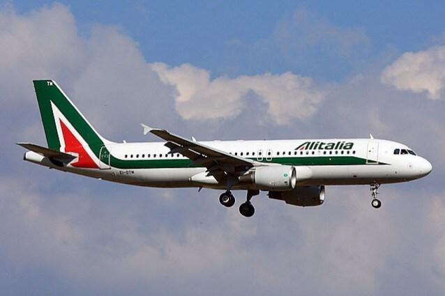 Airbus A320 Alitalia (Foto Wikipedia)