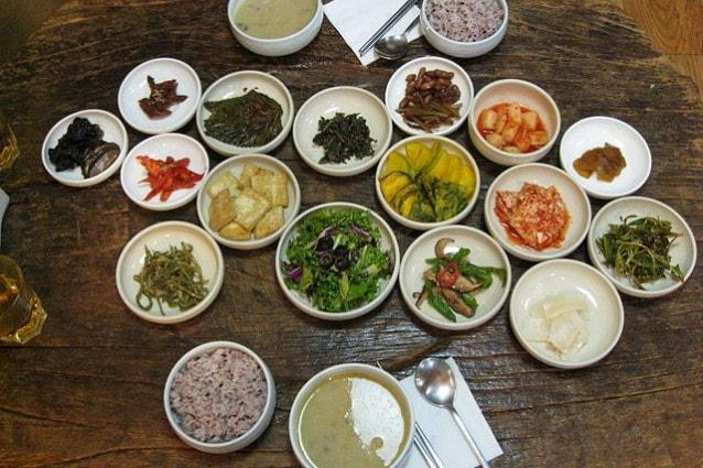 Ristorante vegetariano a Seoul, Corea del Sud (Foto Wikimedia Commons)