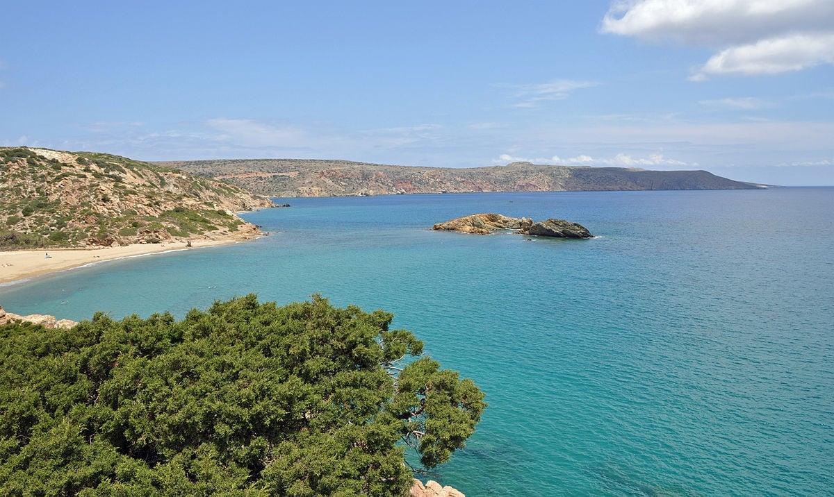 Spiaggia di Vai, Creta (Foto Wikipedia)